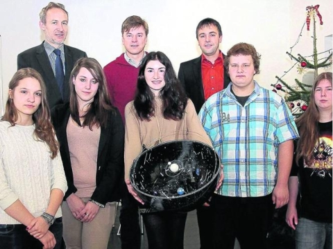 First German student chosen for Space School 2013